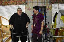 Сейчас Хебранко весит менее 225 кг